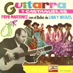 """Vintage Flamenco Guitarra Nº9 - EPs Collectors """"Guitarra Y Castañuelas"""""""