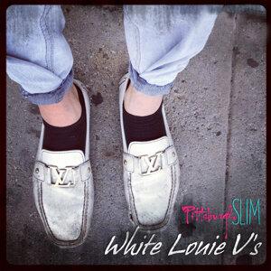 White Louie V's