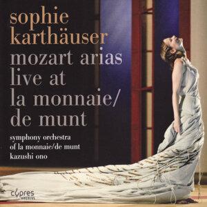 Mozart: Arias - Live at La Monnaie/De Munt