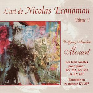 Mozart : L'art de Nicolas Economou, volume 5