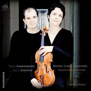 Brahms, Clarke & Vieuxtemps: Sonatas for Viola & Piano, Vol. 1