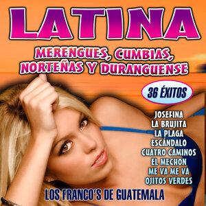 Latina. Merengues, Cumbias, Norteñas y Duranguense
