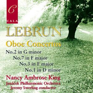 Lebrun: Oboe Concertos No. 2 in G Minor, No.7 in F Major, No. 3 in F Major & No. 1 in D Minor