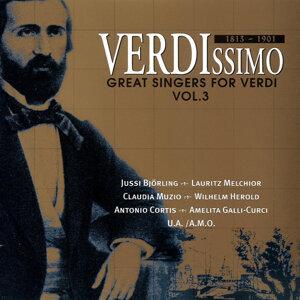Great Singers for Verdi (Vol.3)