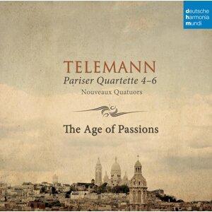 Telemann: Pariser Quartette 4-6