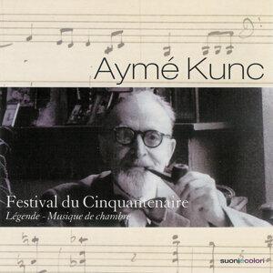 Kunc: Sonate pour violon et piano, Pièce pour alto et piano, Simples chansons pour piano et orchestre de chambre