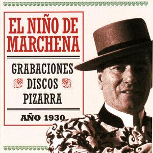El Niño de Marchena,Grabaciones Discos de Pizarra Año 1930