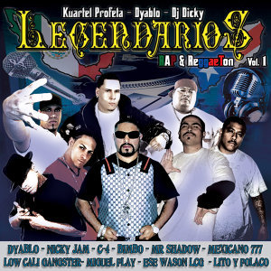 Legendarios - Rap & Regaetton Vol.1