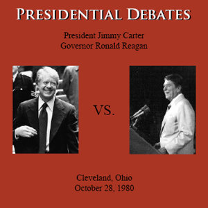 The Reagan / Carter Presidential Debates: Cleveland, OH - 10/28/80