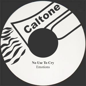 No Use To Cry