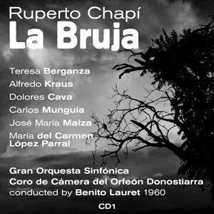 Ruperto Chapí : La Bruja (Zarzuela En Tres Actos) (1960)