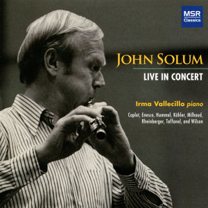 Live in Concert: Solo Flute Recital