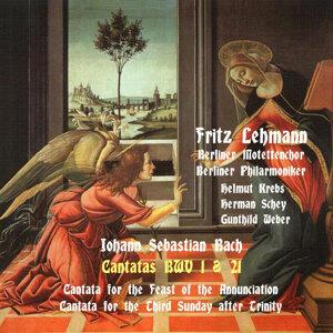 Bach: Cantatas BWV 1 & 21, [1952], Vol. 1