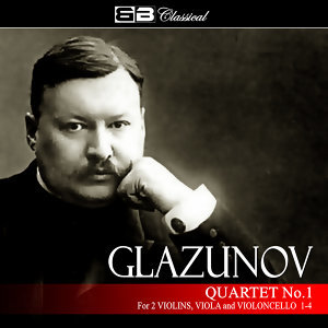 Glazunov Quartet No 1 for 2 Violins, Viola, & Violoncello 1-4