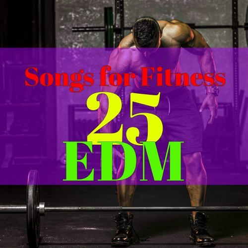 Various Artists - 25 EDM Songs for Fitness – Workout Songs