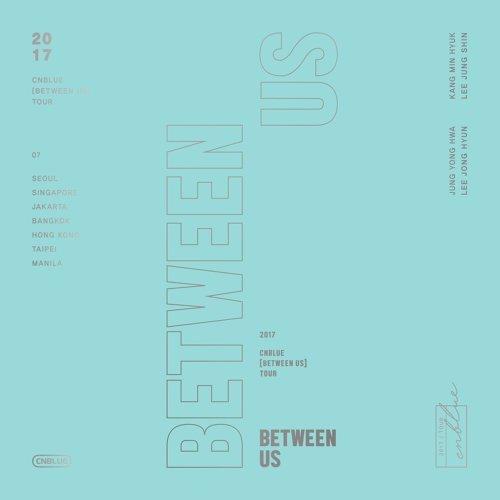 CNBLUE BETWEEN US TOUR 演唱會專輯 (CNBLUE [BETWEEN US] TOUR DVD) - Live
