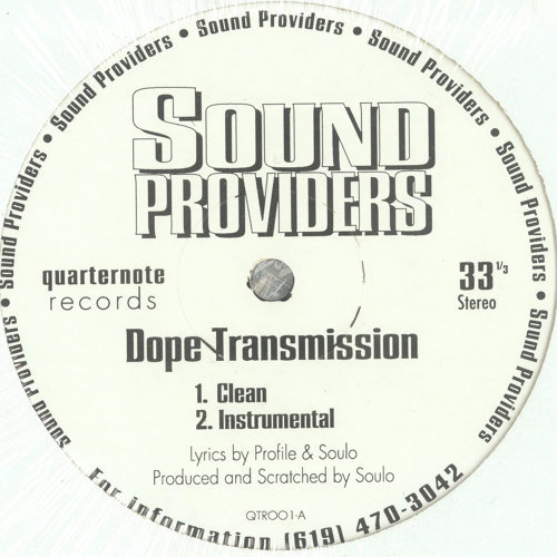 Dope Transmission/The Field