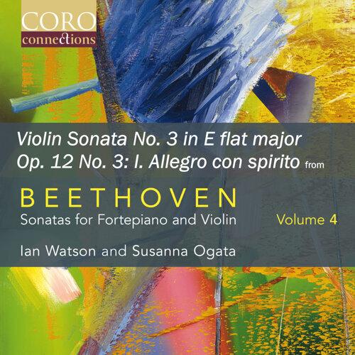 Sonata for Fortepiano and Violin No. 3 in E flat major, Op. 12 No. 3: I. Allegro con spirito
