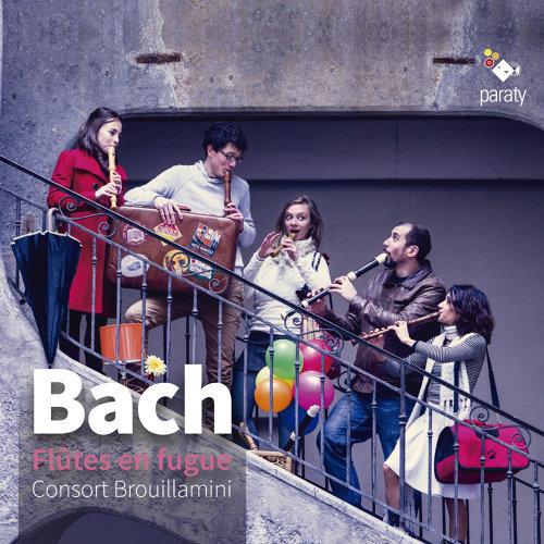 Concerto pour orgue, BWV 593: III. Allegro (Arr. pour flutes)