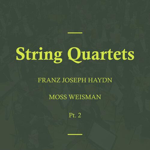Haydn: String Quartets, Pt. 2