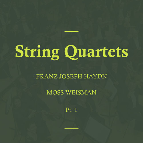 Haydn: String Quartets, Pt. 1