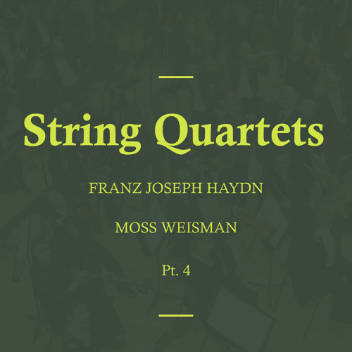 Haydn: String Quartets, Pt. 4