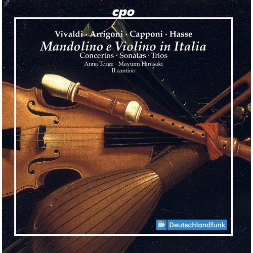 Concerto for Oboe & Violin in B-Flat Major, RV 548 (Arr. for Mandolin, Violin & Chamber Ensemble): II. Largo