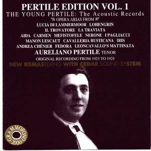 Pertile Edition Vol. 1 - The Young Pertile - The Acoustic Records