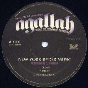 "NY Ryder Music (12"")"