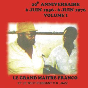 20e Anniversaire 6 Juin 1956 - 6 Juin 1976 Volume 1