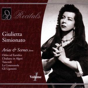 Giulietta Simionato: Volume 1
