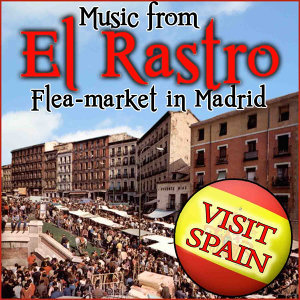 Music From El Rastro. Flea - Market in Madrid. Visit Spain