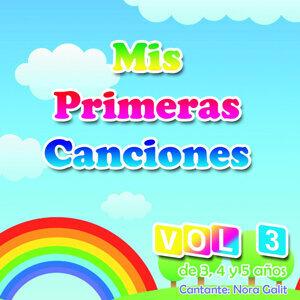Mis Primeras Canciones, Vol. 3: Canciones para Niños de 3, 4 y 5 Años