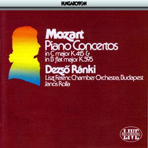Piano Concertos K.595 and K.415