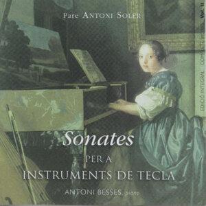 Pare Antoni Soler Sonatas For Keyboard Vol. 3