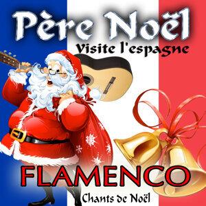 Père Noël visite l'Espagne. Flamenco chants de Noël