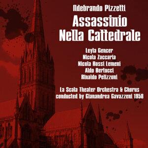 """Pizzetti: Assassinio Nella Cattedrale """"Murder In The Cathedral"""",1958"""