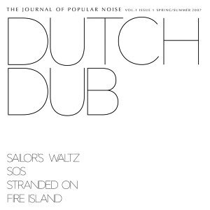 Journal of Popular Noise - Issue 1