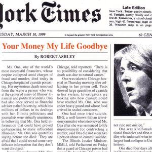 Your Money My Life Goodbye