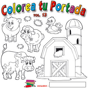 Colorea Tu Portada   Vol.13