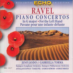Piano concertos: In G major - For the Left Hand - Pavane pour infante défunte