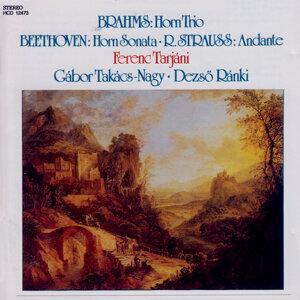 Brahms: Horn Trio, Beethoven: Horn Sonata, R. Strauss: Andante