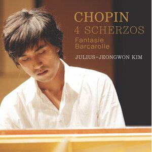 Chopin: 4 Scherzos (Fantasie, Barcarolle)