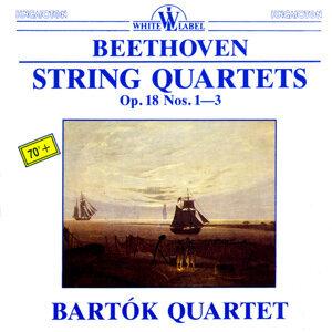 Beethoven: String Quartets Op. 18 Nos. 1-3