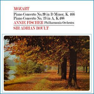 Mozart: Piano concertos No 20 & 23