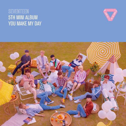 SEVENTEEN 5TH MINI ALBUM 'YOU MAKE MY DAY'