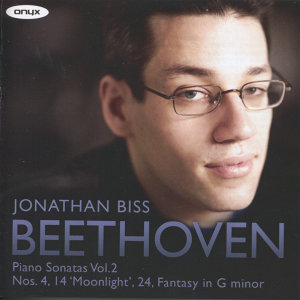 Beethoven: Piano Sonatas, Vol. 2 - Nos. 4, 14 'Moonlight, 24 &Fantasy in G Minor