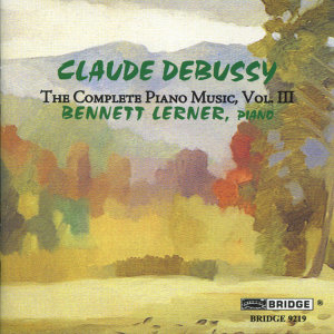Claude Debussy: The Complete Piano Music, Vol. 3
