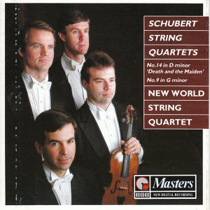 Schubert String Quartets - No.14 in D minor 'Death and the Maiden' / No.9 in G minor