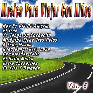 Musica Para Viajar Con Niños  Vol. 5